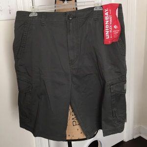 Union bay men's cargo shorts N